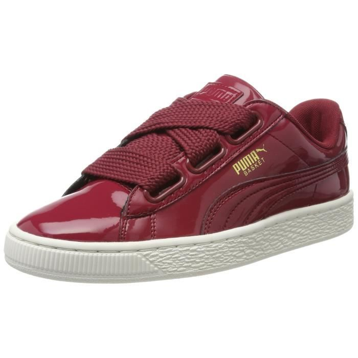 buy popular 7574e 30be8 PUMA Women's Basket Heart Patent Wn S Tibetan Red Sneakers-4.5 Ukindia  (37.5 Eu)(36307305) YGVTX Taille-M