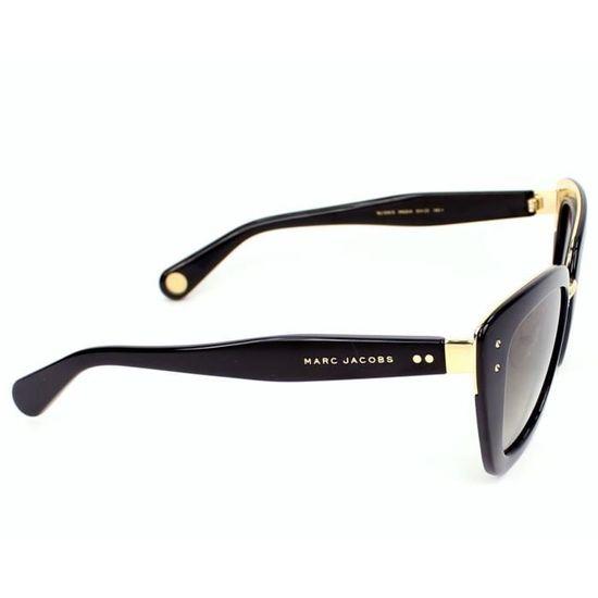 ffa2cda0e51b57 Lunettes de soleil Marc Jacobs MJ 506-S -ONQHA Noir - Or Noir, Or - Achat    Vente lunettes de soleil Femme - Cdiscount