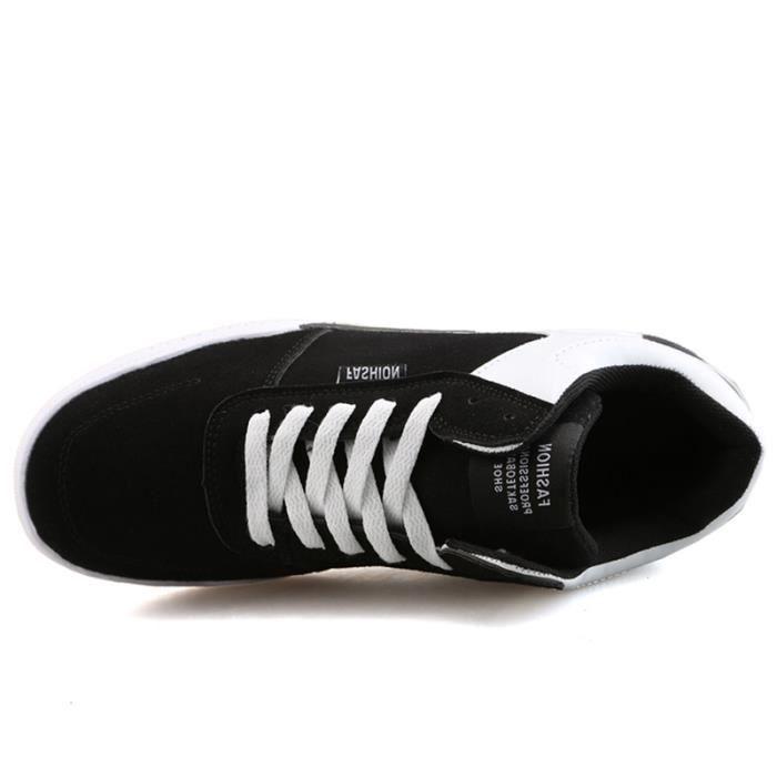 Chaussures De Sport Pour Femme en daim Textile De Course Populaire BBJ-XZ127Blanc36
