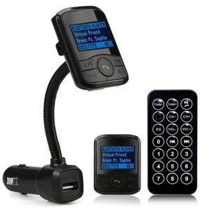 Récepteur audio Kit de voiture LCD MP3 Bluetooth Player FM Transme