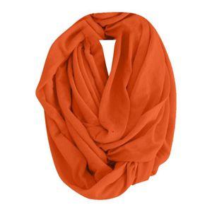 ef0bab7cad5 ECHARPE - FOULARD Couleur bonbon col foulard orange LZF81106083OR 11