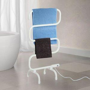 SÈCHE-SERVIETTE ÉLECT Sèche serviettes électrique Homcom-qualité- puiss.