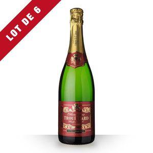 ASSORTIMENT CHAMPAGNE 6X Trouillard Demi-Sec 75cl - Champagne