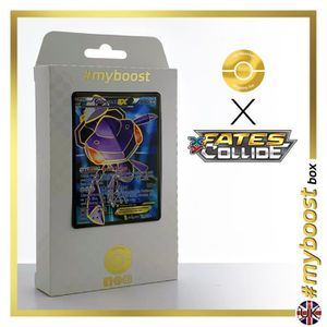 CARTE A COLLECTIONNER GENESECT EX 120-124 FULL ART - #myboost X Fates Co