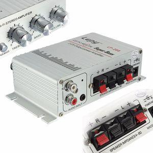 AMPLIFICATEUR HIFI Lepy 40W 12V 2-Canaux Hi-Fi Stéréo Mini Ampli Ampl