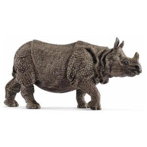 FIGURINE - PERSONNAGE SCHLEICH - Figurine 14816 Rhinocéros indien