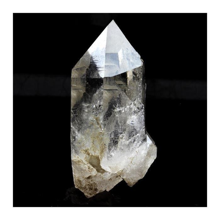 Pierre -Quartz cristal de roche. 214.4 ct. Massif du Mont-Blanc, France