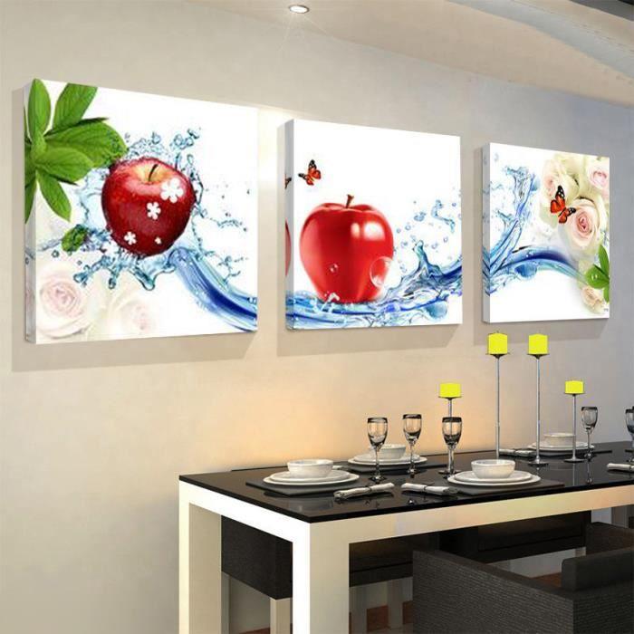 Cuisine maison d coration murale peinture modulair achat for Quadri per cucina