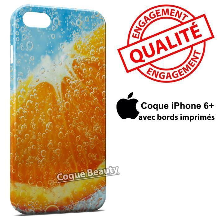 coque iphone 6 plus orange