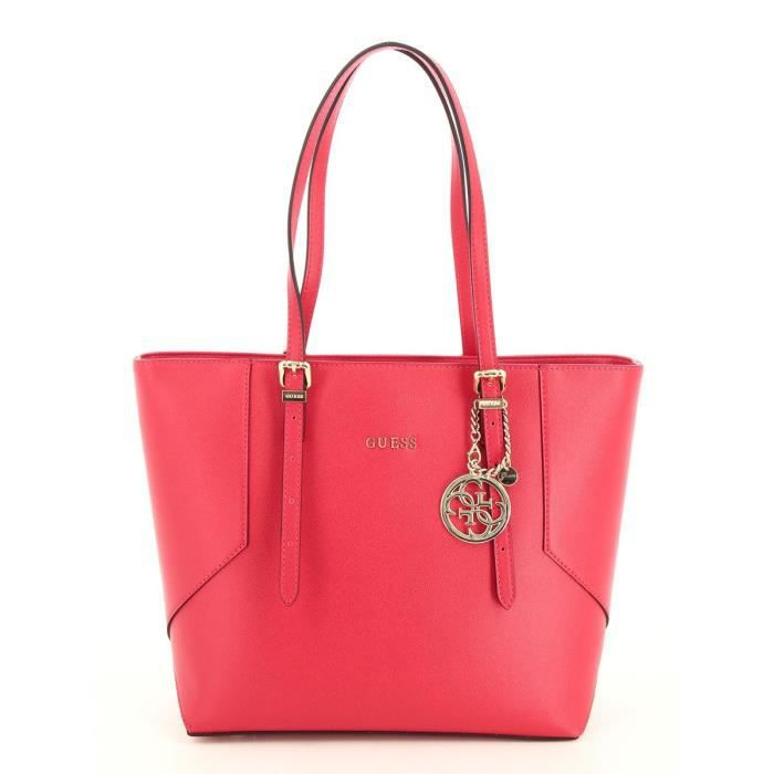 sac guess rouge achat vente sac guess rouge pas cher cdiscount. Black Bedroom Furniture Sets. Home Design Ideas