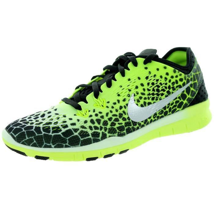 chaussures de séparation 35d76 4c42f low cost femmes nike free tr fit tout jaune 10fd7 e143b