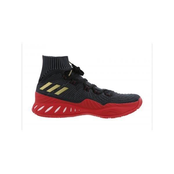 best sneakers c28ee 5e782 Chaussure de Basketball adidas Crazy Explosive Primeknit 2017 Noir Rouge  pour homme