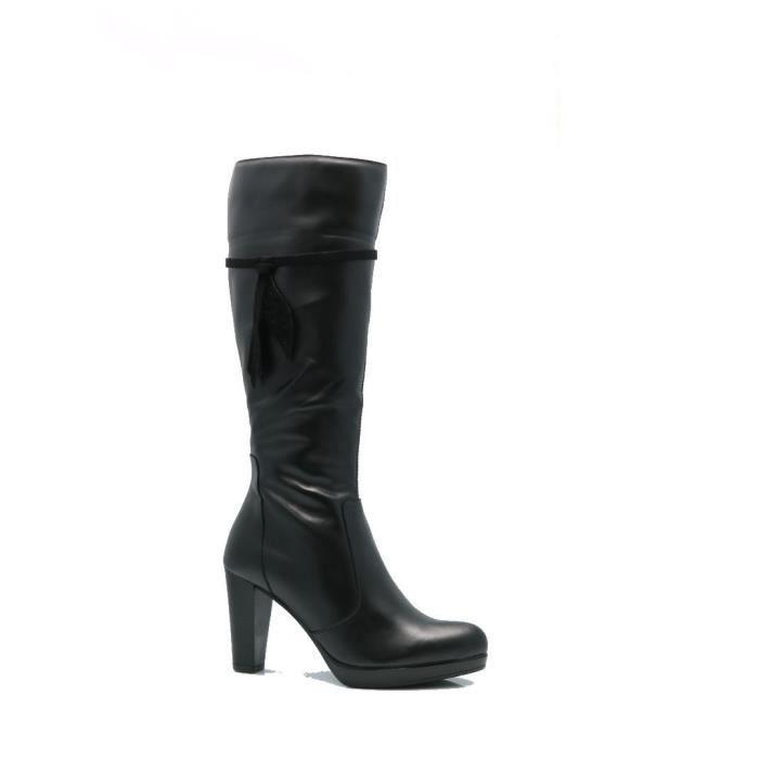 Souliers simple en cuir Chaussures plates D96BZ Taille-37 1-2 GspLsMH