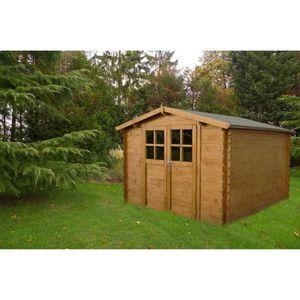 Abri de jardin en bois 9m2 - Achat / Vente pas cher
