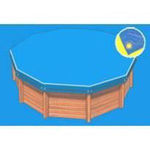 bache piscine hexagonale