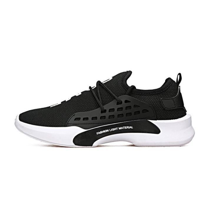 Chaussure Gym Chocs Homme Style Assurer Absorption Meilleure R81555435 43 De Ville Respirante Des XH02 Noir 1qwrZ1