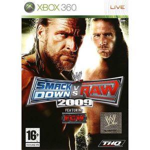 JEU XBOX 360 WWE Smackdown vs Raw 2009 Classic Jeu XBOX 360