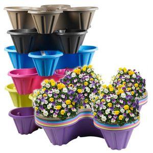 ACCESSOIRE SERRE JARDIN Pot de fleurs empilable