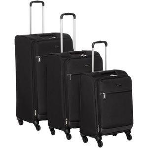 SET DE VALISES AmazonBasics Lot de 3 valises souples à roulettes