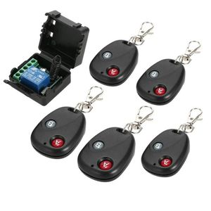 INTERRUPTEUR ÉLECTRO. Smart Home 433 Mhz DC 12 V 1CH Télécommande Sans F