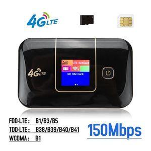 MODEM - ROUTEUR LTE 4G Routeur Wifi Hotspot Modem LED 150Mbps Data