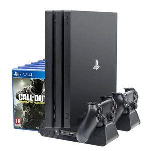 CÂBLE JEUX VIDEO Stand Ventilateur Pour PS4 - PS4 Slim - PS4 Pro &