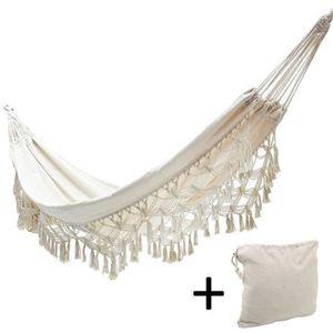 HAMAC Fringed hammock suspendue hamac de voyage respiran