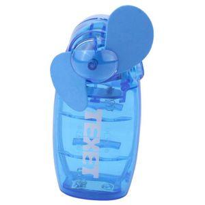 VENTILATEUR Mini ventilateur portatif transparent alimenté par