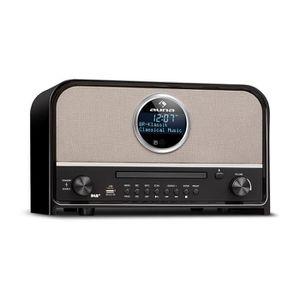 RADIO CD CASSETTE auna Columbia Radio numérique DAB+ FM avec Bluetoo
