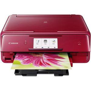 IMPRIMANTE CANON Imprimante multifonction PIXMA TS8052 Rouge