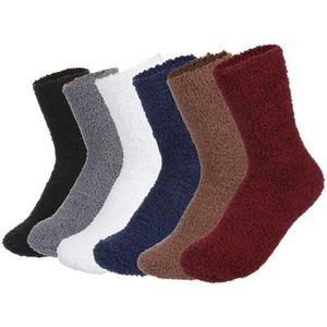 Hommes Non Élastique Brossé Chaussettes Thermiques Hiver Chaud Marche Travail Bottes 3 Paires Vêtements et accessoires Chaussettes pour homme