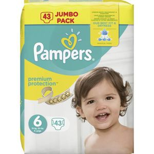 Couches Pampers Jumbo Pack Achat Vente Pas Cher