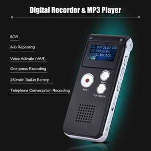 DICTAPHONE - MAGNETO. 8 Go Intelligent Audio Enregistreur Vocal Dictapho