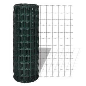 CLÔTURE - GRILLAGE Grillage 10 x 0,8 m avec mailles 100 x 100 mm