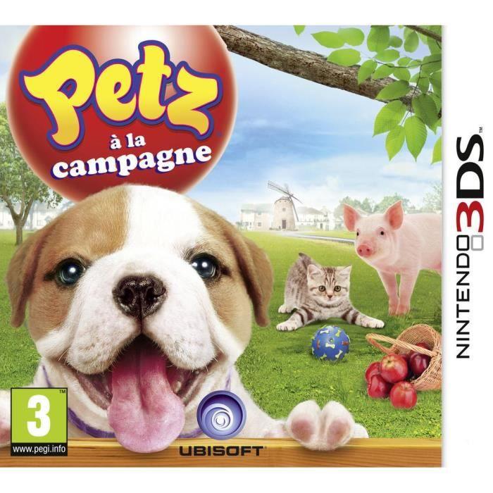 Petz à la Campagne Jeu 3DS
