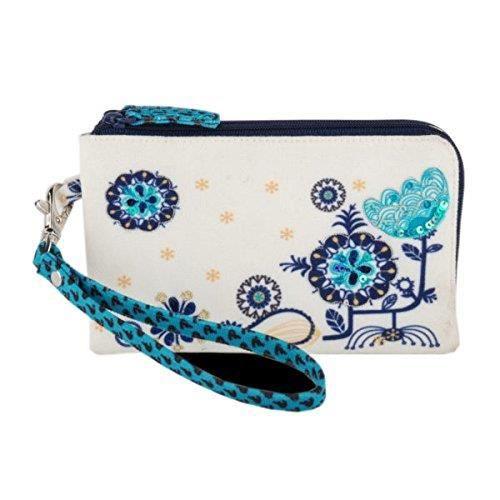 sac à main de marche multicolore brodé et embelli pour femme? ETF1V