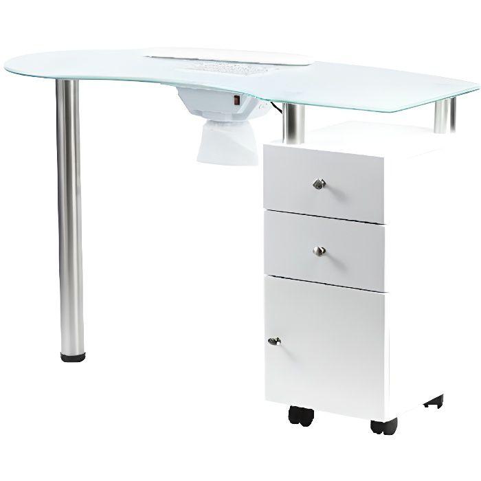 Table Avec Manucure Verre Plateau Et En Aspirateur htrxBsQdC