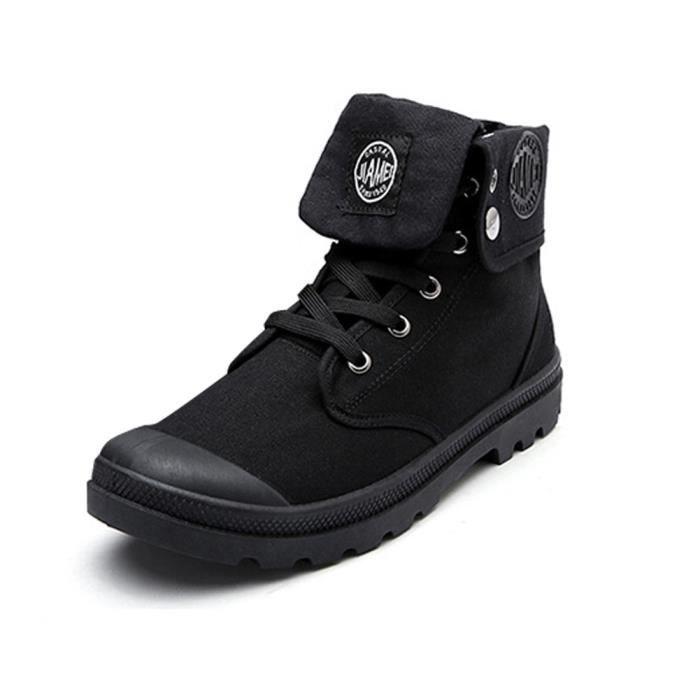 Minetom Automne Hiver Angleterre Cuir Chaussures Martin Botte pour Homme Bottines À Lacets de Moto Boots Flattie Sport Gris Gris - Achat / Vente botte  - Soldes* dès le 27 juin ! Cdiscount