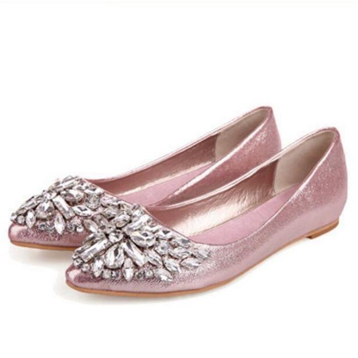 Moccasins Femme Meilleure Qualité Nouvelle arrivee Moccasin De Marque De Luxe plates chaussures Grande Taille 2jD52NF