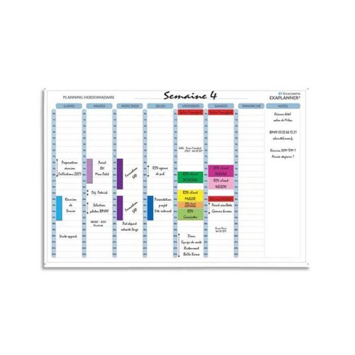 Planning Magnetique Achat Vente Planning Magnetique Pas Cher Cdiscount