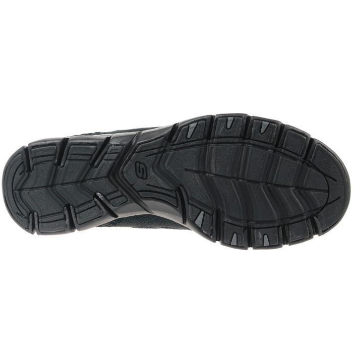 Skechers Gratis 22758-BBK Femme Baskets Noir