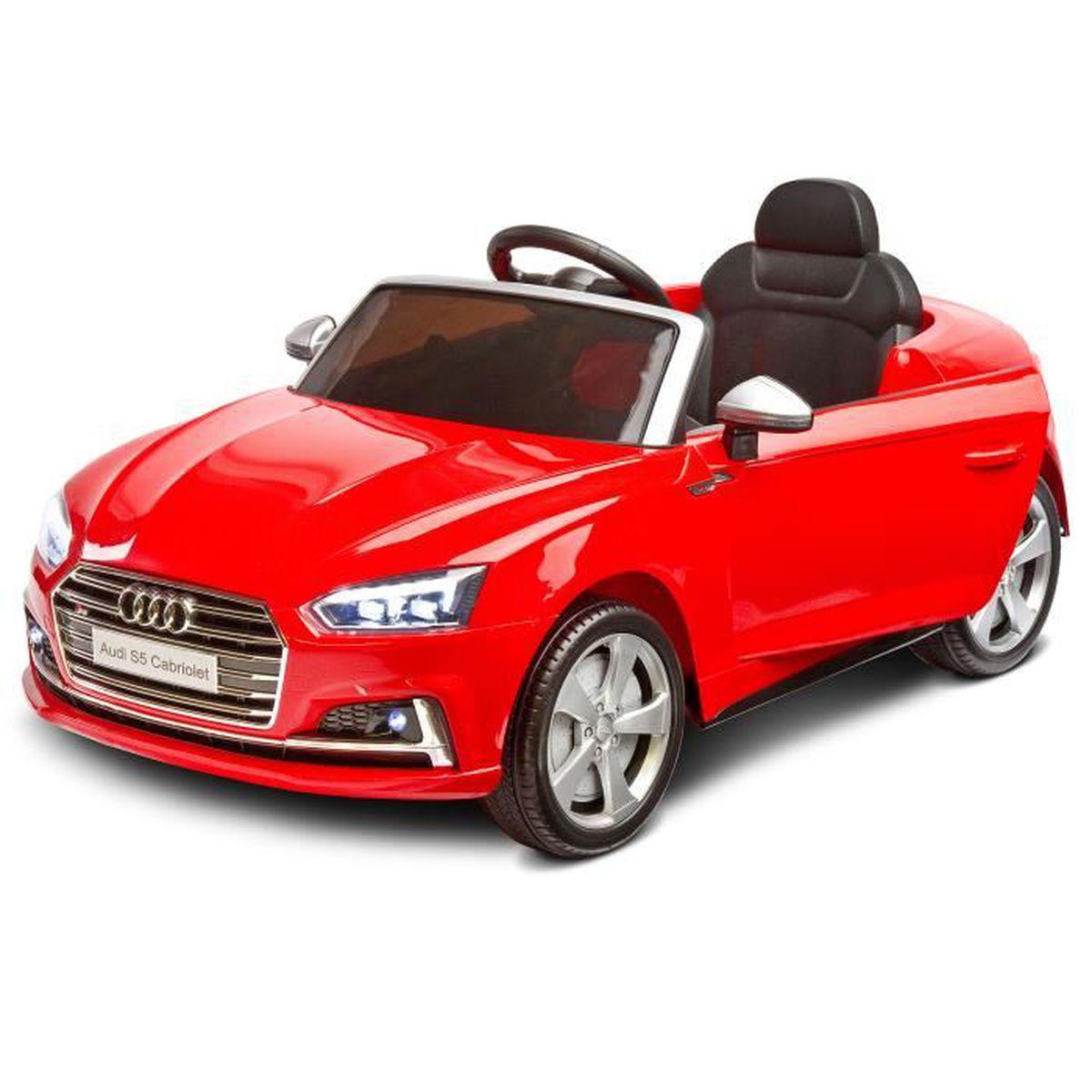 357b3e07036c61 Voiture Electrique Audi S5 Rouge 12 V Luxe Enfant Noel Cadeau ...