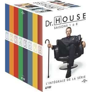 DVD SÉRIE DVD Coffret Dr. House - L'intégrale de la série +