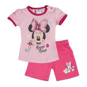 T-SHIRT  Minnie   Ensemble Tee-shirt+short