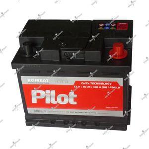 BATTERIE VÉHICULE Batterie 12v 60ah 480A 242x175x190mm