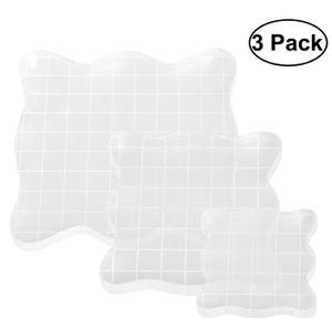 CALENDRIER - EPHEMERIDE ROSENICE 3pcs acrylique transparent en caoutchouc