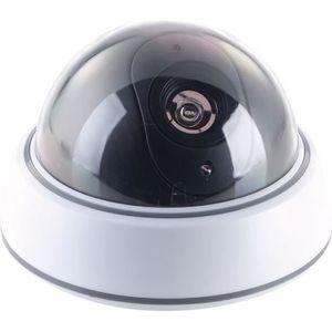 CAMÉRA FACTICE Caméra dôme factice avec coupole transparente