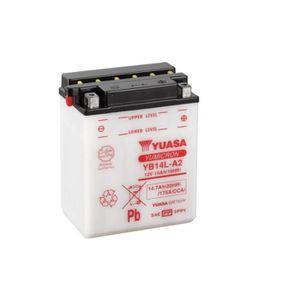 BATTERIE VÉHICULE Batterie YUASA YB14L-A2 conventionnelle