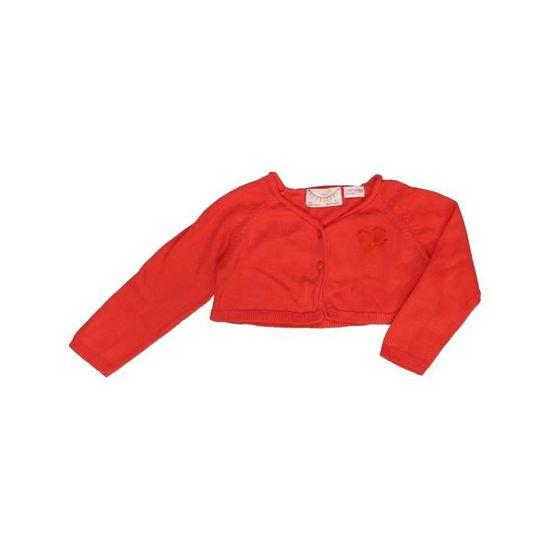 acheter pas cher fffdf 17e87 Gilet enfant fille ZARA 2 ans rouge hiver - vêtement bébé ...