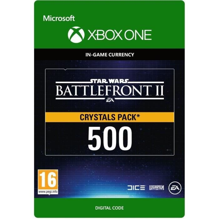 DLC Star Wars Battlefront II: 500 Crystals pour Xbox One
